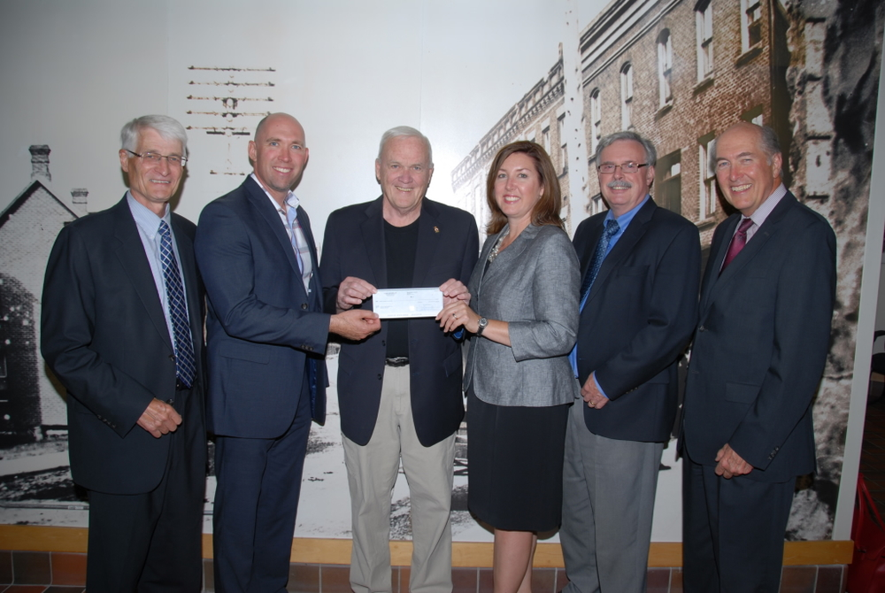 Crain & Schooley marks 60th anniversary with donation to AGH