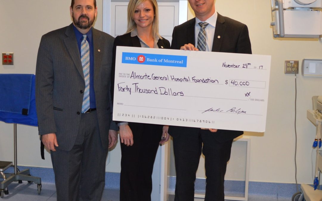 BMO FINANCIAL GROUP DONATE $40,000