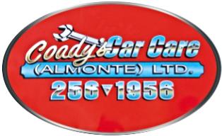 Coady's Car Care Almonte Logo
