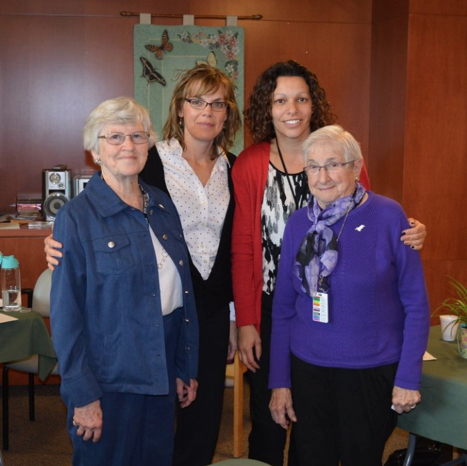 Dolly Toshack and Ruth Lowe, Volunteer Angels