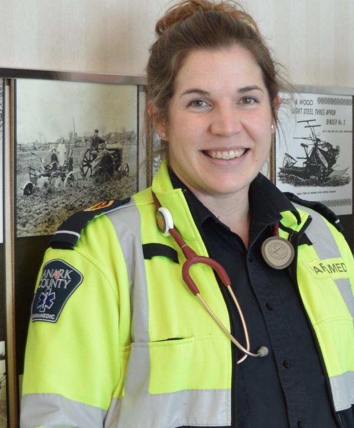 Emily Hine, Paramedic Angel