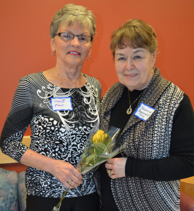 Irene Botham and Sharron Pottle, Volunteer Angels