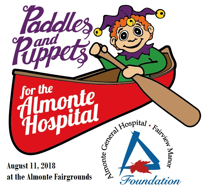 Paddles and Puppets for Almonte Hospital
