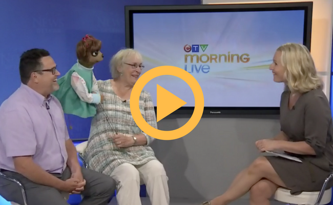 Paddles and Puppets CTV Morning Live Video