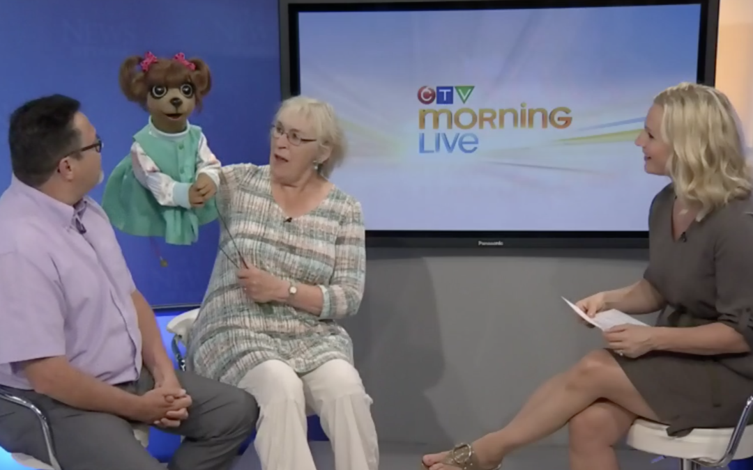 Paddles and Puppets on CTV Ottawa News