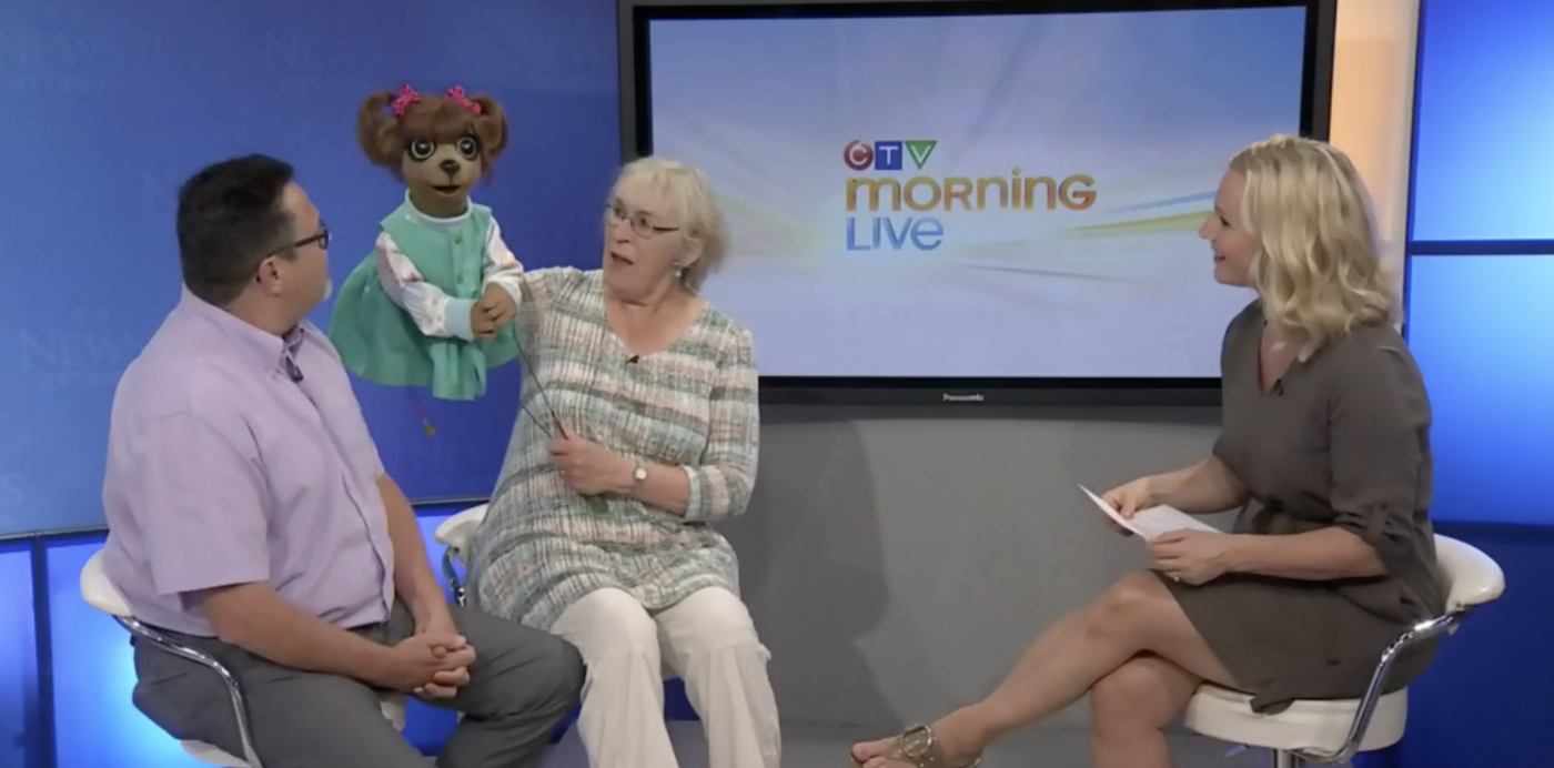 Paddles and Puppets on CTV Ottawa News