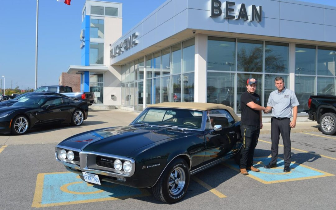 Jordan Waito Drives Home His '67 Firebird